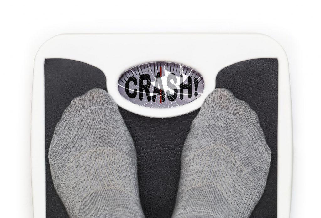 Het crash dieet – Ongezond afvallen