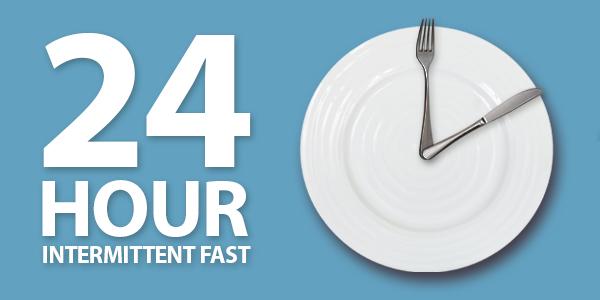 Intermittent Fasting schema: 24 uur vasten