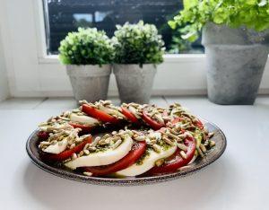 Recept: Keto salade Caprese