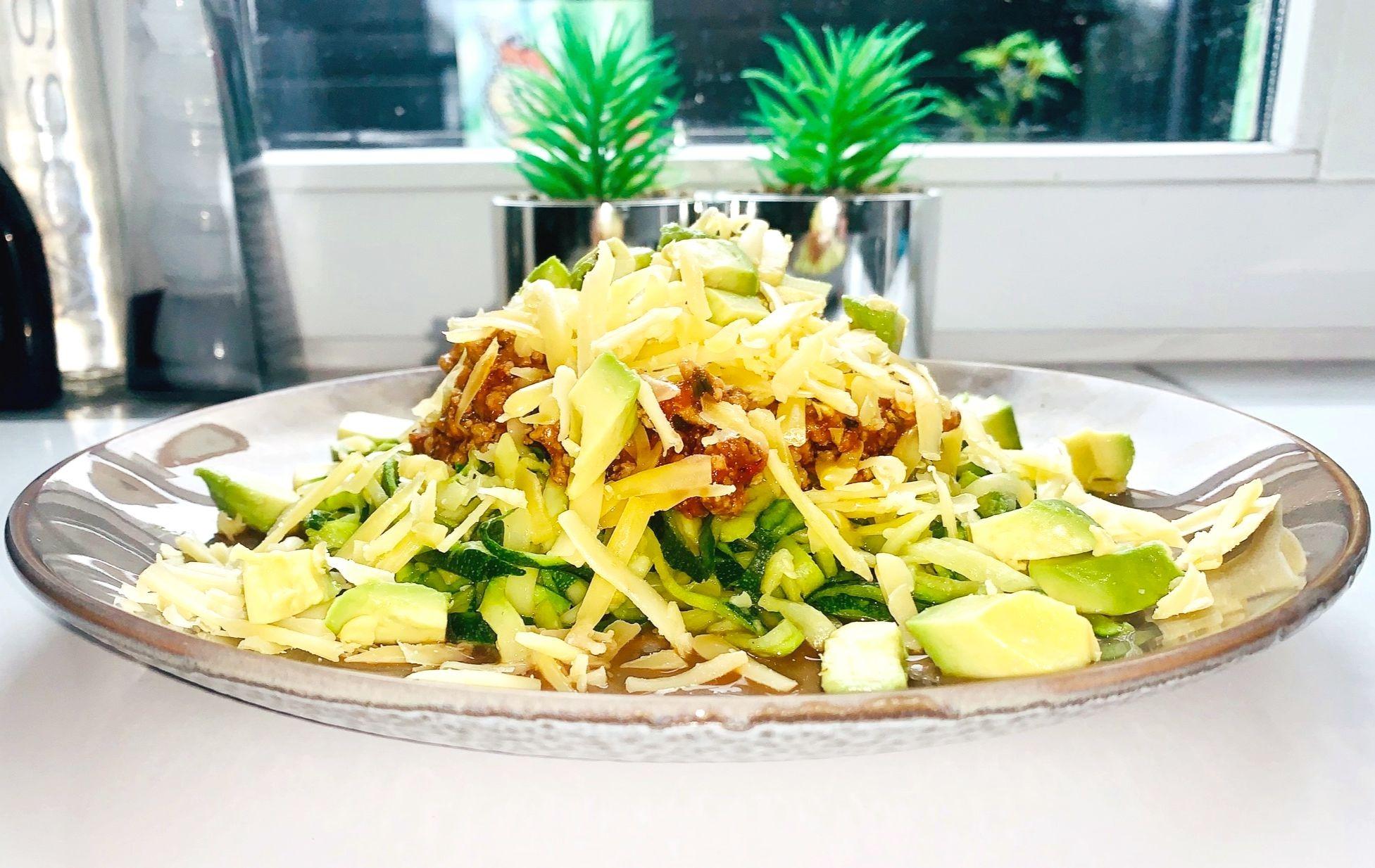 Recept: Keto Courgette Spaghetti (Courgetti)